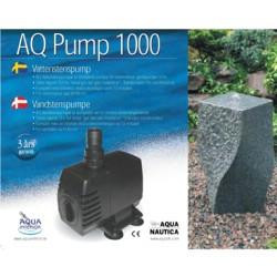 pump till vattensten